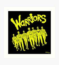 The Warriors - 2017/2018 Art Print