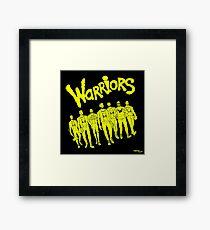 The Warriors - 2017/2018 Framed Print