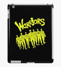 The Warriors - 2017/2018 iPad Case/Skin