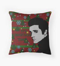 Elvis Presley - Christmas Floor Pillow