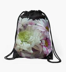 Romantic Bouquet Drawstring Bag