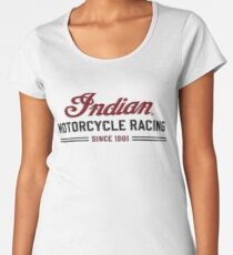 Indian Motorcycle Racing Since 1901 Women's Premium T-Shirt