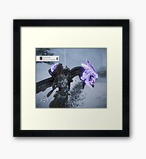 Taking Down All Recon Machines Framed Print