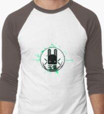Electric Jade Rabbit Men's Baseball ¾ T-Shirt