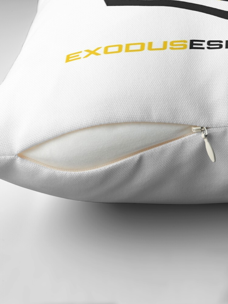 Alternate view of Exodus Esports Throw Pillow