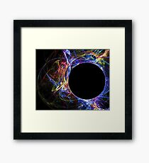 Blue Eclipse-Available As Art Prints-Mugs,Cases,Duvets,T Shirts,Stickers,etc Framed Print