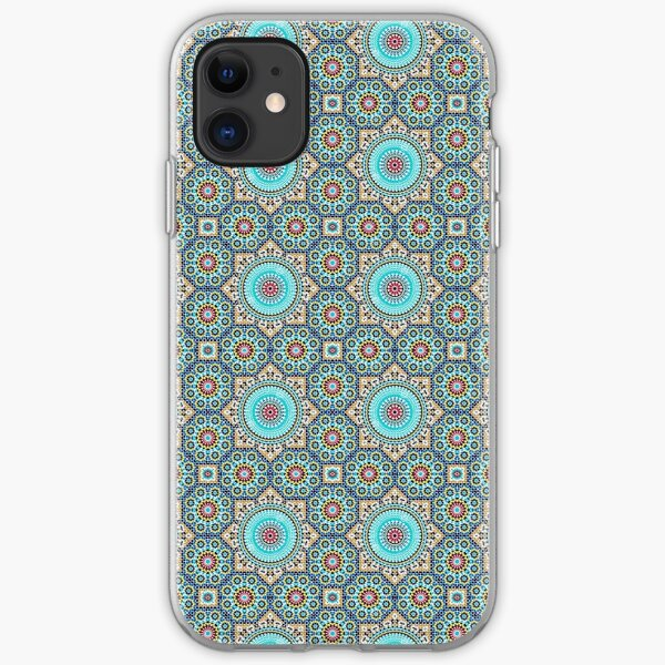 Moroccan inspired Design  iPhone Soft Case