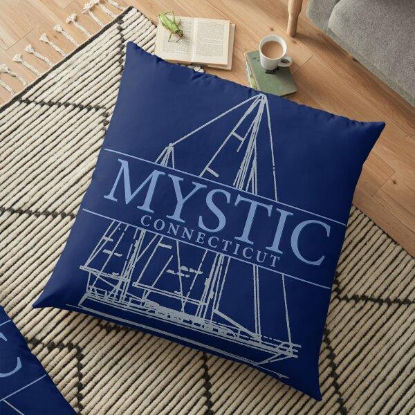 Mystic CT Floor Pillow
