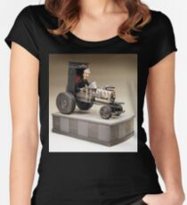 The Seeker - A Gothic Hot Rod Women's Fitted Scoop T-Shirt