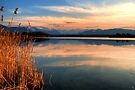 Sunset on Lake Rieg by Kasia-D