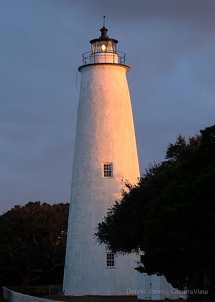 Ocracoke Lighthouse by Dennis Jones - CameraView