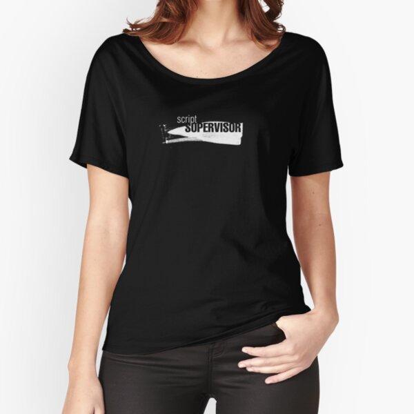 Film Crew II. Script Supervisor. Relaxed Fit T-Shirt