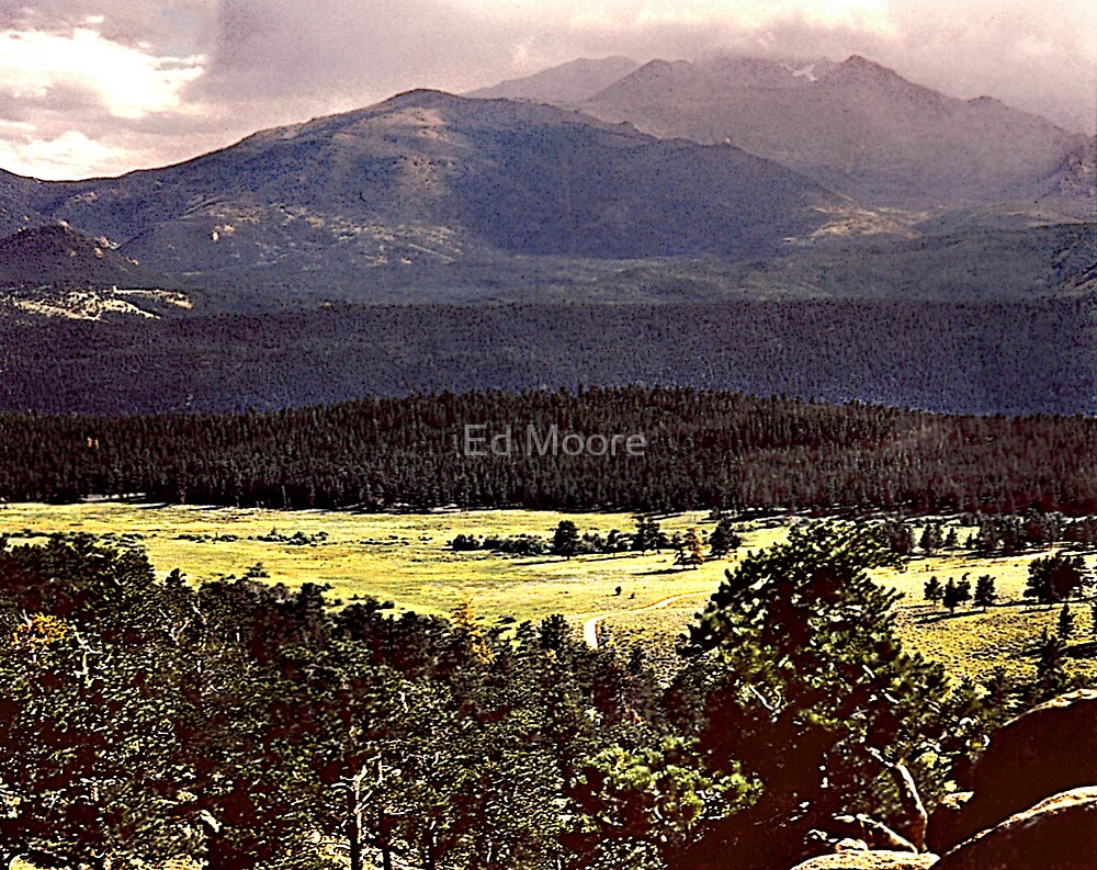 Back Home Again, Colorado by Ed Moore