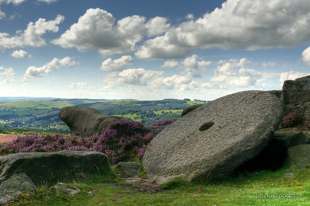 Millstone Edge - The Peak District by LazloWoodbine
