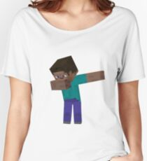 MINECRAFT DAB!! Women's Relaxed Fit T-Shirt