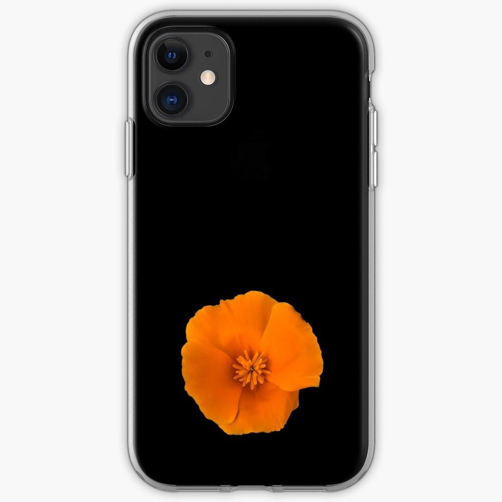 Golden Poppy Flower iPhone Case & Cover