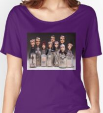 Group shot - Bottle Portraits Women's Relaxed Fit T-Shirt