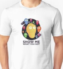'Show Me What You Got' Space Rick and Morty T-Shirt