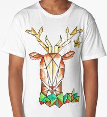 Minimalist Reindeer - Cerf Minimaliste  Long T-Shirt