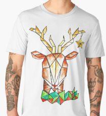 Minimalist Reindeer - Cerf Minimaliste  Men's Premium T-Shirt