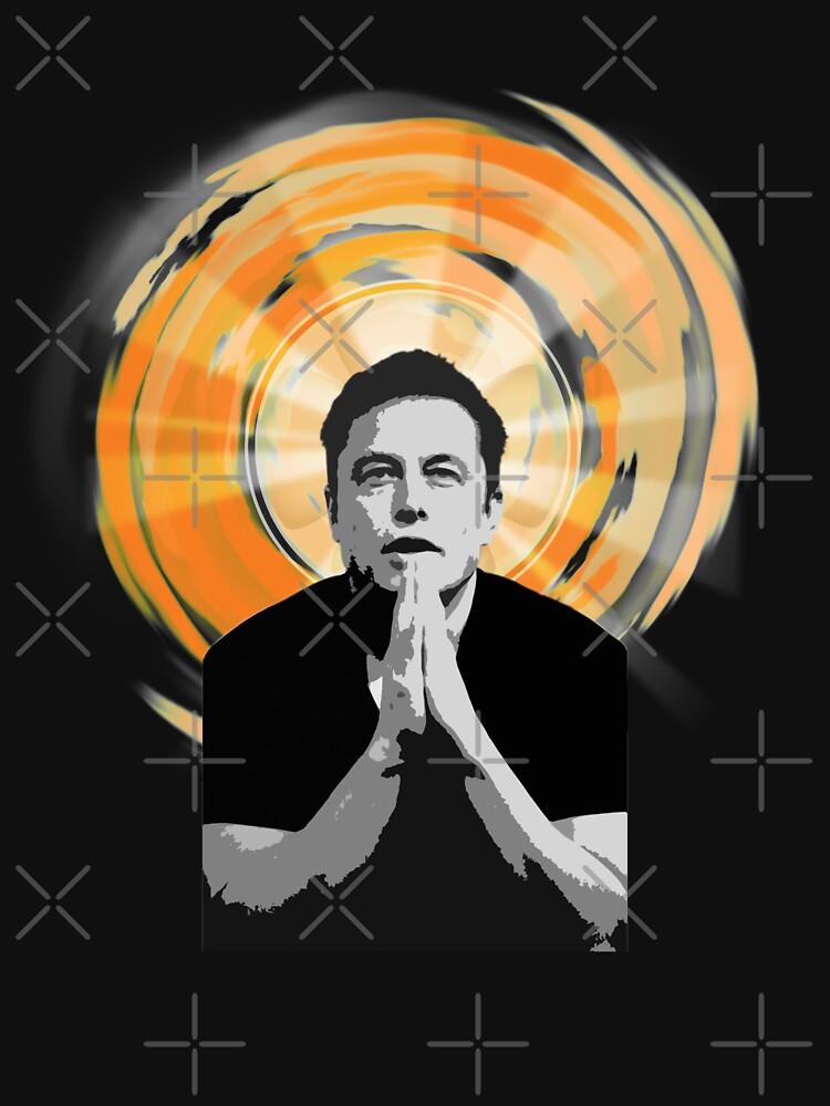 In Elon Musk We Trust by Leejin