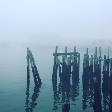 Misty Pier by CWinslow