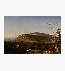 Catskill Mountain House by Jasper Francis Cropsey Photographic Print