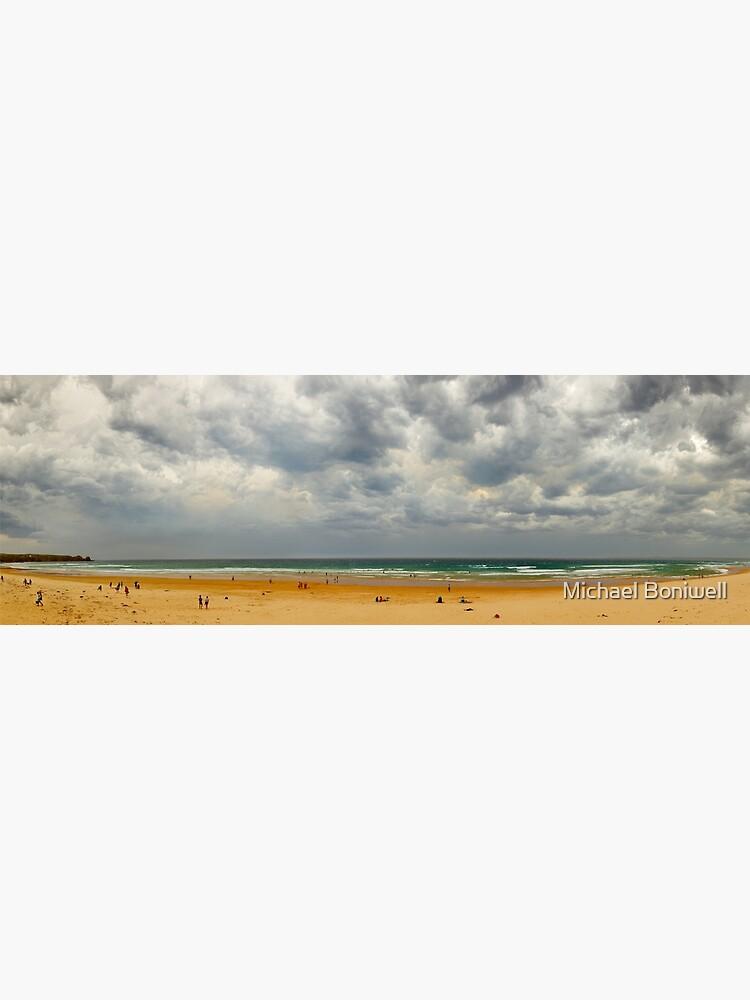 Stormy Cape Woolamai Beach, Phillip Island, Victoria, Australia by Chockstone