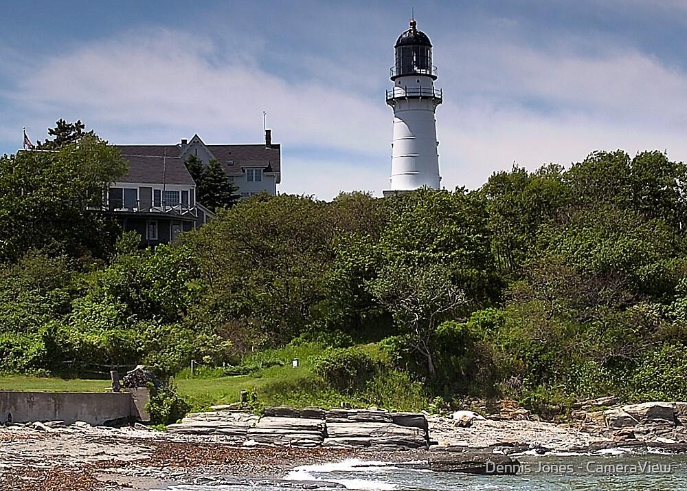 Cape Elizabeth Lighthouse by Dennis Jones - CameraView