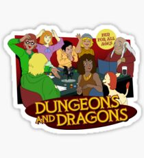 Dungeons and Dragons - Fun for all ages! Sticker