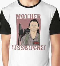 Ghostbusters Venkman 'Mother Pussbucket' Graphic T-Shirt
