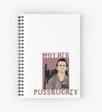 Ghostbusters Venkman 'Mother Pussbucket' Spiral Notebook