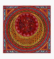 Celtic Sun and Moon (ISIS) Photographic Print