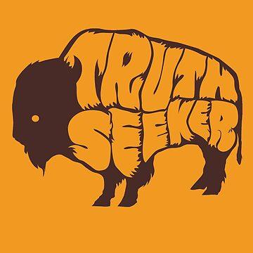 Truthseeker Buffalo by truthseekertees