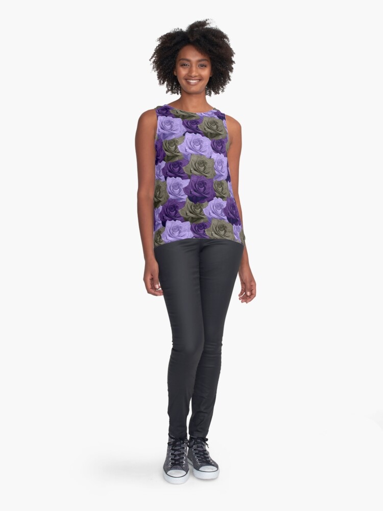 Alternate view of Roses Sleeveless Top