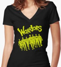 The Warriors - 2017/2018 Women's Fitted V-Neck T-Shirt