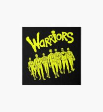 The Warriors - 2017/2018 Art Board