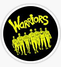 The Warriors - 2017/2018 Sticker