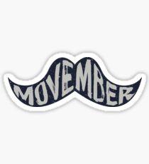 Movember Sticker