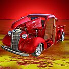 Red Pick Up Reflected by George Lenz