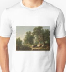Summer Afternoon by Asher Brown Durand T-Shirt
