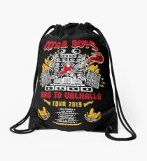 Road to Valhalla Tour Drawstring Bag