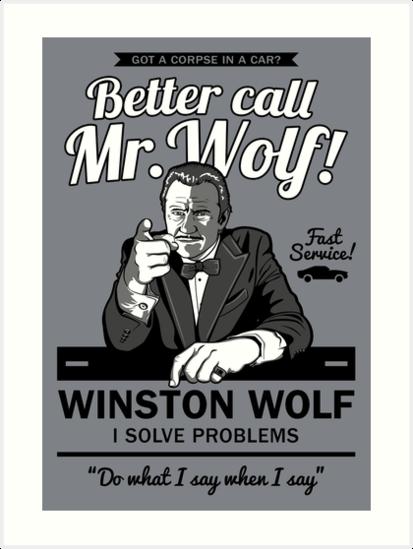 Better call Mr. Wolf by Olipop
