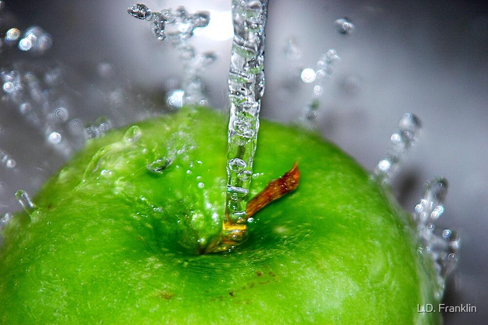 Apple Splash by L.D. Franklin