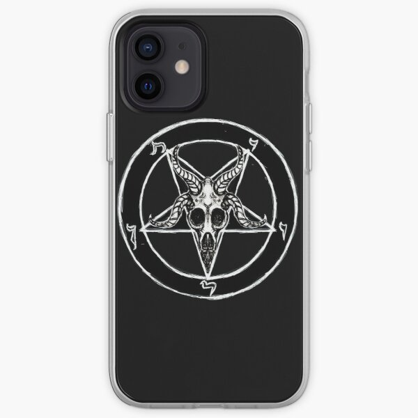 Baphomet Pentagram iPhone Soft Case