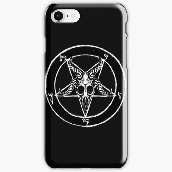 Baphomet Pentagram iPhone Snap Case