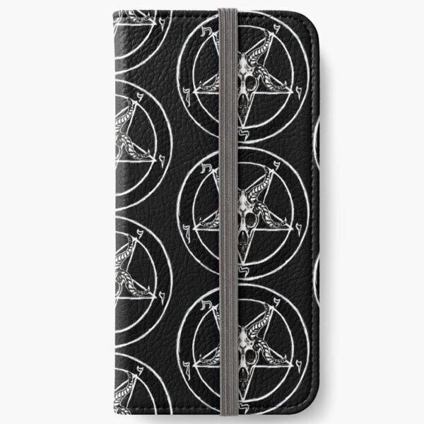 Baphomet Pentagram iPhone Wallet