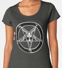 Baphomet Pentagram Women's Premium T-Shirt