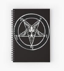 Baphomet Pentagram Spiral Notebook
