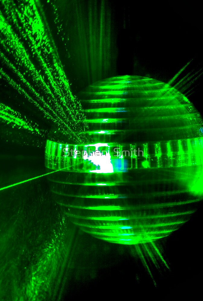Laser ball by Stephen  Smith